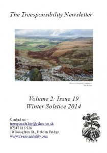 Winter Solstice 2014 newsletter front page