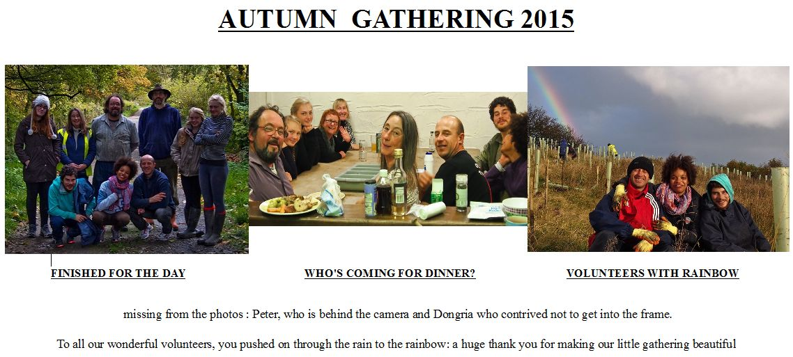 Autumn Gathering 2015